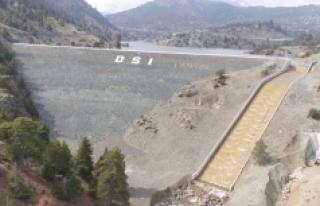 Karaman Merkez Akın Barajı Sulama Projesi'nde...