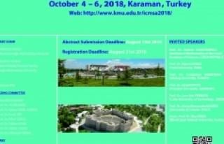 KMÜ, Uluslararası Matematik Konferansına Ev Sahipliği...