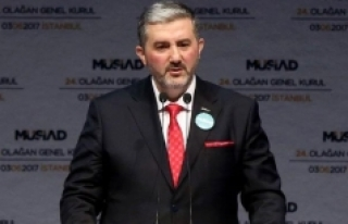 MÜSİAD Genel Başkanı Kaan Yarın Karaman'da