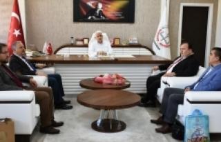 SEDEP Proje Ekibinden Kuntoğlu'na Ziyaret