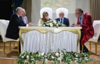 Vali Meral Huzurevi Sakinlerinin Nikahına Şahitlik...