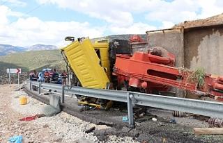 Ermenek-Bucakkışla Yolunda Trafik Kazası: 1 Yaralı