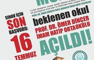 Prof. Dr. Ömer Dinçer İmam Hatip Ortaokulu Sınavla...
