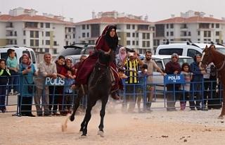 Atlı Okçuluk Türkiye Şampiyonası Yarı Final...