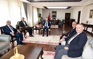 Ankaramander Yönetiminden Teşekkür Ziyareti