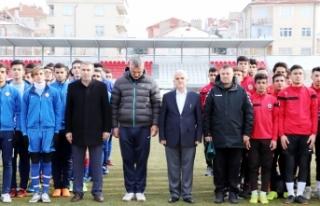 Okullar Arası Gençler Futbol Grup Müsabakaları...