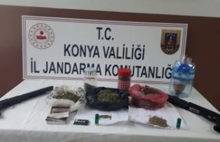 Çumra'da Uyuşturucu Operasyonu