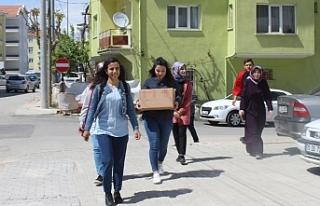 Gençler'den Anlamlı Ramazan Paketi
