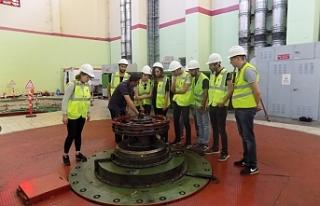 Hidroelektrik Santrale Teknik Gezi