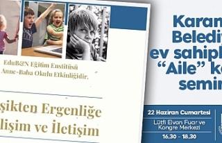 ''Beşikten Ergenliğe''Karamanlılar...