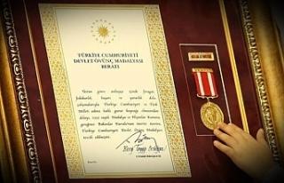 """Kıbrıs Gazileri İçin """"Milli Mücadele Madalyası..."""