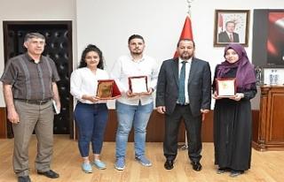 Rektör Akgül,Öğrenci Topluluklarını Kabul Etti