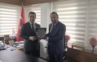 Rektör Akgül,Spor Toto Başkanı Bozgeyik İle Görüştü