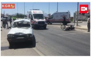 Trafik Kazası:2 Yaralı