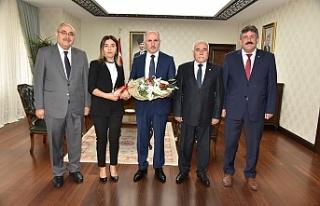 Ahilik Kültür Haftası Kutlama Heyeti Vali Meral'i...
