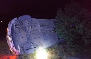 Karapınar'da Otomobil Takla Attı: 5 Yaralı