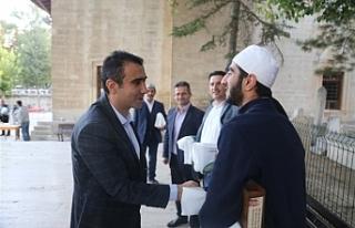 Başkan Kalaycı Sabah Namazında Vatandaşlarla Buluştu