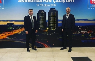 Diyarbakır'da Düzenlenen Akreditasyon Çalıştayına...