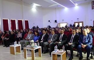 Ermenek'te 24 Kasım Öğretmenler Günü kutlandı