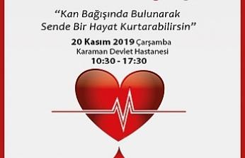 Kızılay ve İl Sağlık Müdürlüğünden Kan Bağışı Çağrısı