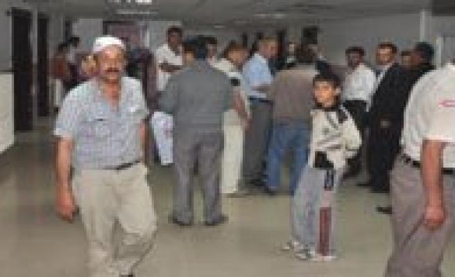 Hafta Sonundaki Kazalarda 21 Kisi Yaralandi