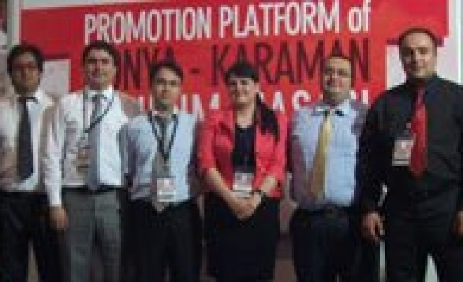 Mevka Konya-Karaman Tanitim Masasi Gaziantep Expo Gateway To Middle East 2011'de