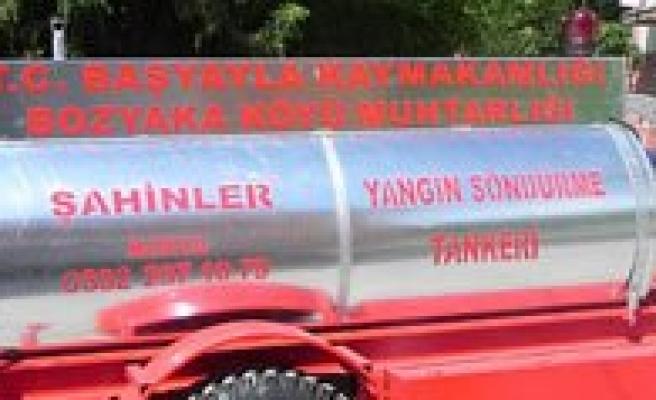 Üç Köye Itfaiye Tankeri