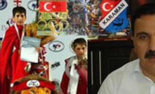 """Gençlik Ve Spor Il Müdürü Ömer Ersöz: """"Karaman Ilk Defa Avrupa Sampiyonu Çikardi"""""""