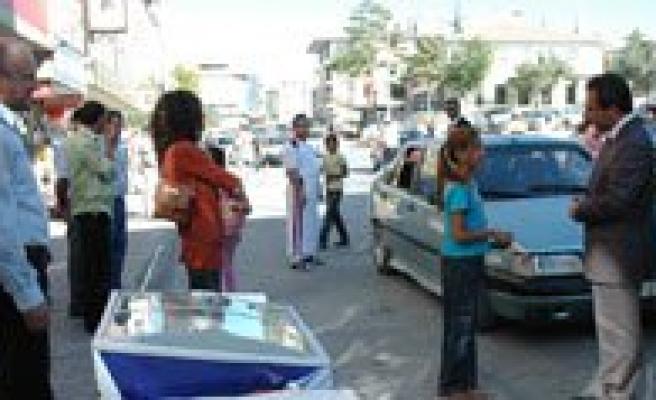 Polisten Dondurmali Uygulama