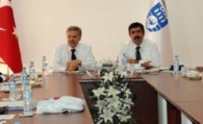 Mevka'nin Eylül Ayi Yönetim Kurulu Toplantisi Ilimizde Yapildi