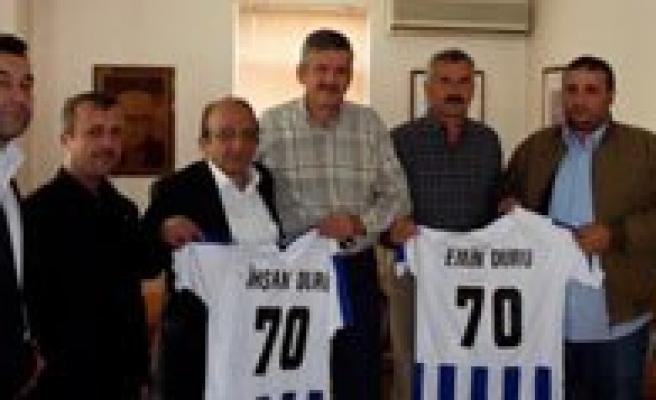 70 Karaman Spor Yöneticileri Duru Bulguru Ziyaret Etti