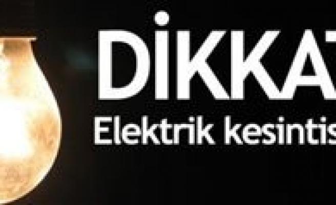 Mahalle Ve Köylerde Elektrik Kesintisi