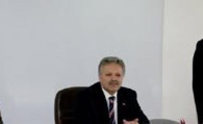 Vali Kahraman Ve Baskan Ugurlu'dan Il Özel Idaresine Ziyaret
