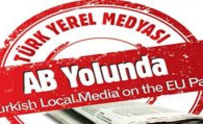 `Türk Yerel Medyasi AB Yolunda` Projesinin 10. Semineri Mersin'de Basliyor