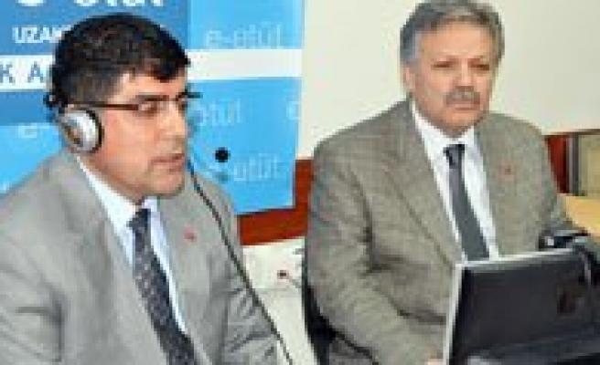 E-Etüt Projesi Karaman'da Basladi
