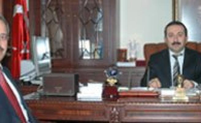 KMÜ  Rektöründen Selçuk Üniversitesi Rektörüne Ziyaret
