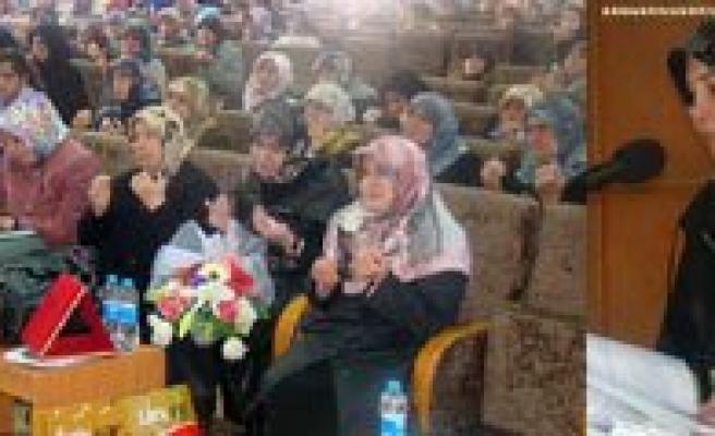Zeynep Erbakan Karaman'da Hanimlara Seslendi