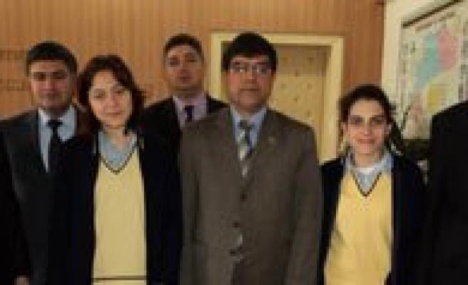 TOKI Anadolu Lisesi Ispanya'ya Gitti