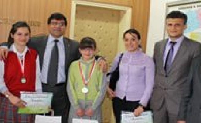 2 Okul Inepo Çevre Proje Olimpiyatlarinda Derece Aldi