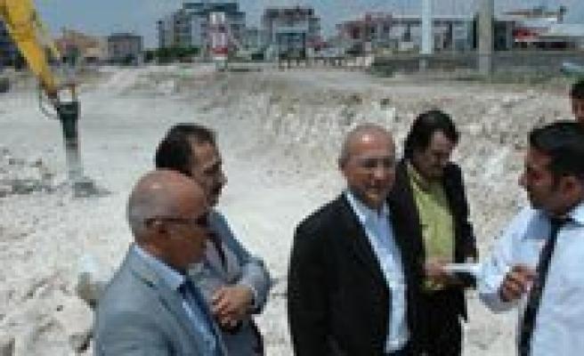 Milletvekili Elvan Karaman'daki Yatirimlari Yerinde Inceledi