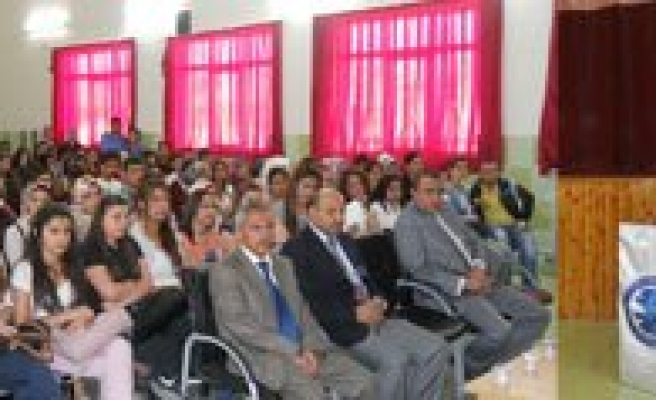 Kazim Karabekir MYO'da Salih Baldiz Konferans Verdi