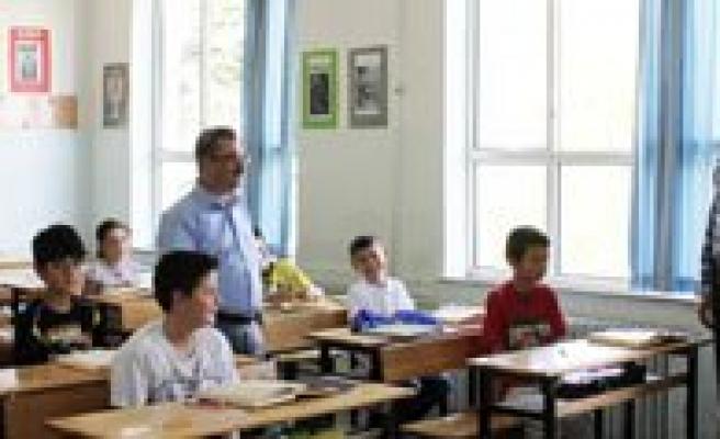 Mavi Tirtil Yaz Okulunu Ziyaret Etti