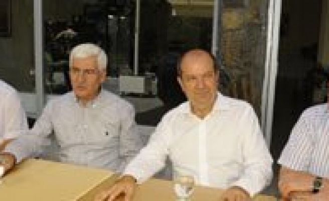 KKTC Maliye Bakani Karaman'da Ata Topraklarini Gezdi