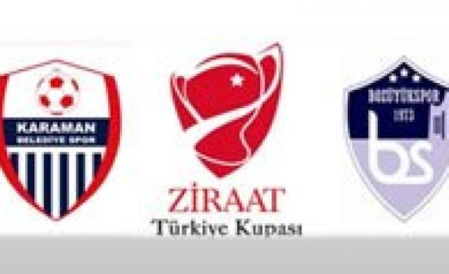 Karaman Belediye Spor-Bozüyük Maçi 27 Eylül Persembe Günü