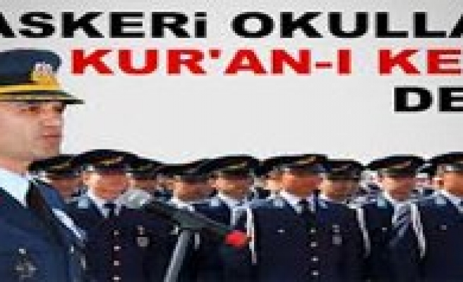 Askeri Okullara Kur`an-i Kerim Dersi