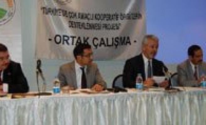 Kooperatiflerde Strateji Ve Finans Kaynaklari Konulu Panel Yapildi