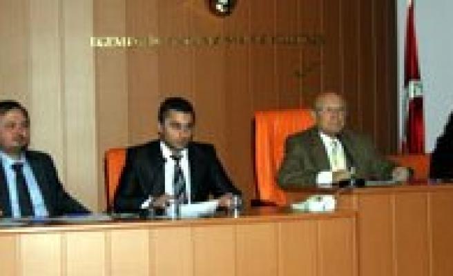Belediye Meclisi 9 Kasim'da Toplaniyor