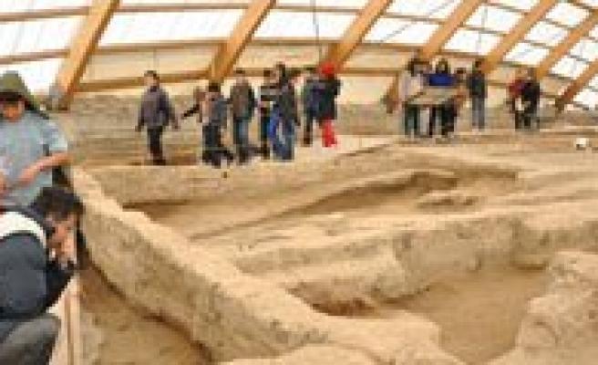 Sabiha Gökçen Ortaokulu Çatalhöyük'teydi