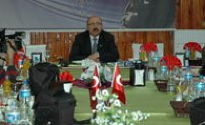 Sariveliler Belediye Baskani Samur'dan Degerlendirme Toplantisi