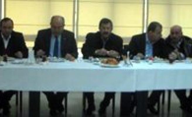 2. Meslek Grubu Üyeleri TSO'nun Kahvaltisinda Bir Araya Geldi
